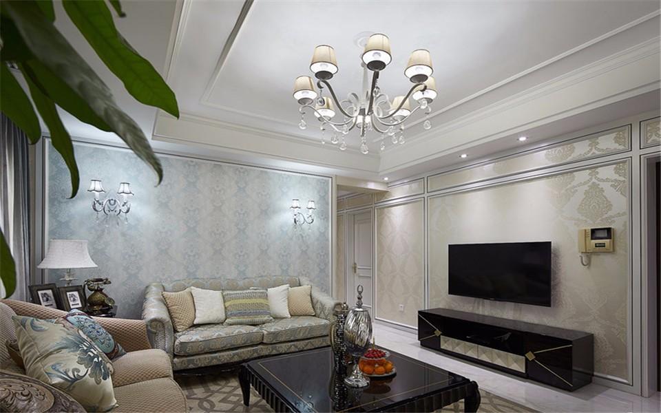 2室1卫1厅新古典风格