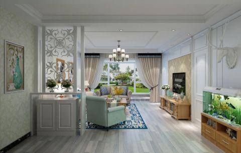 客厅细节北欧风格装潢设计图片