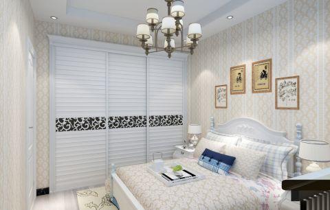卧室橱柜北欧风格装修图片
