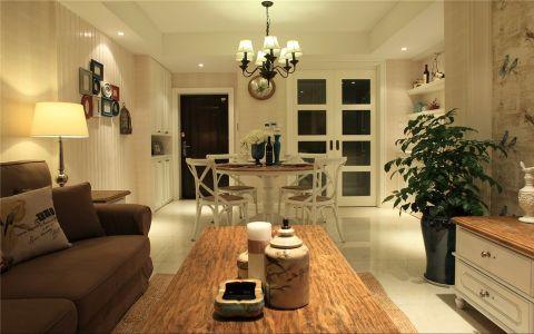 现代简约风格106平米公寓新房装修效果图