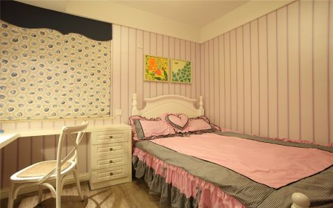 儿童房窗帘现代简约风格装潢效果图