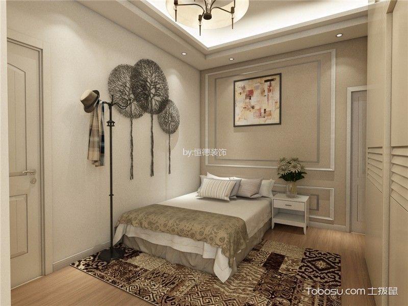 卧室米色细节现代风格装饰效果图