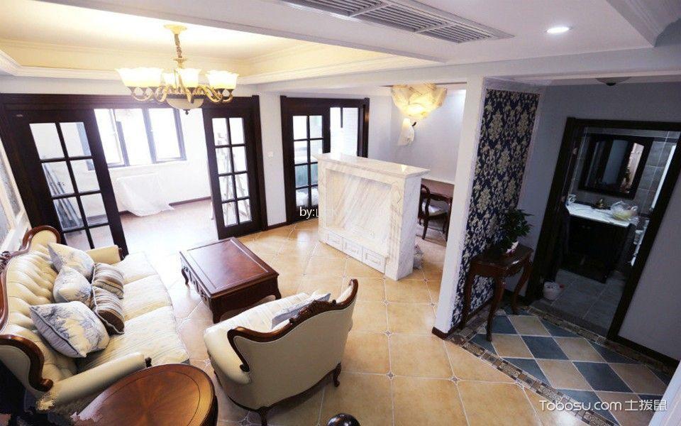 橡树湾120平loft三室装修效果图