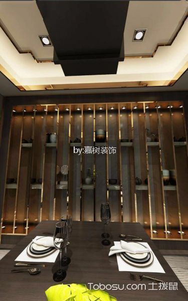 佳和馨居20-1兰咖啡厅包房博古架装修图片