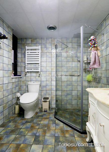 卫生间 细节_绿地泓悦府93平简欧风格两室装修效果图