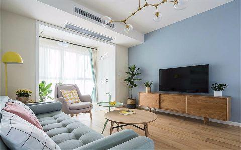 2019北欧150平米效果图 2019北欧公寓装修设计