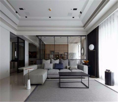 阳光凡尔赛宫118平米现代简约风格三居室装修效果图