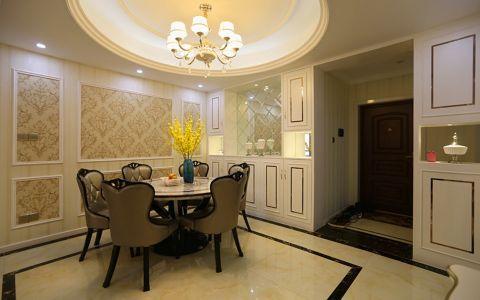 餐厅走廊简欧风格装饰图片