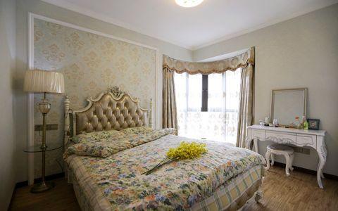 卧室细节简欧风格装潢设计图片