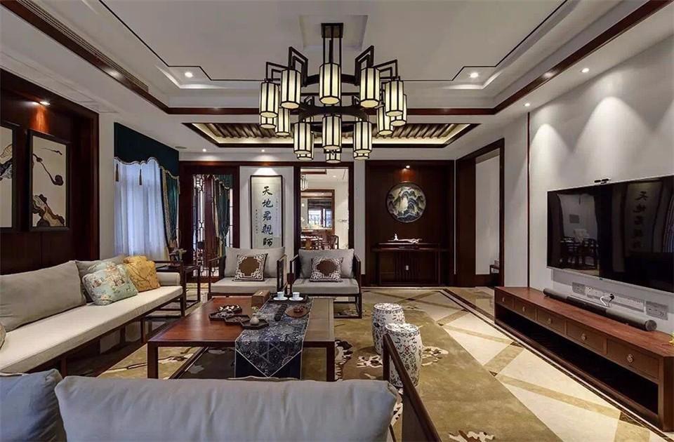 4室3卫2厅180平米新中式风格