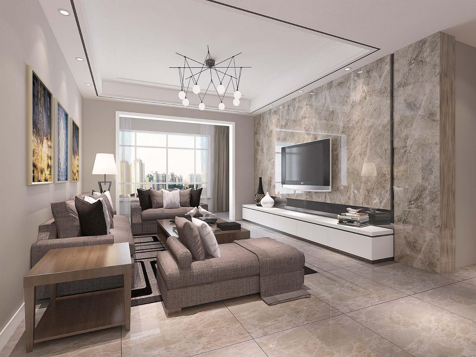 3室1卫2厅118平米现代风格