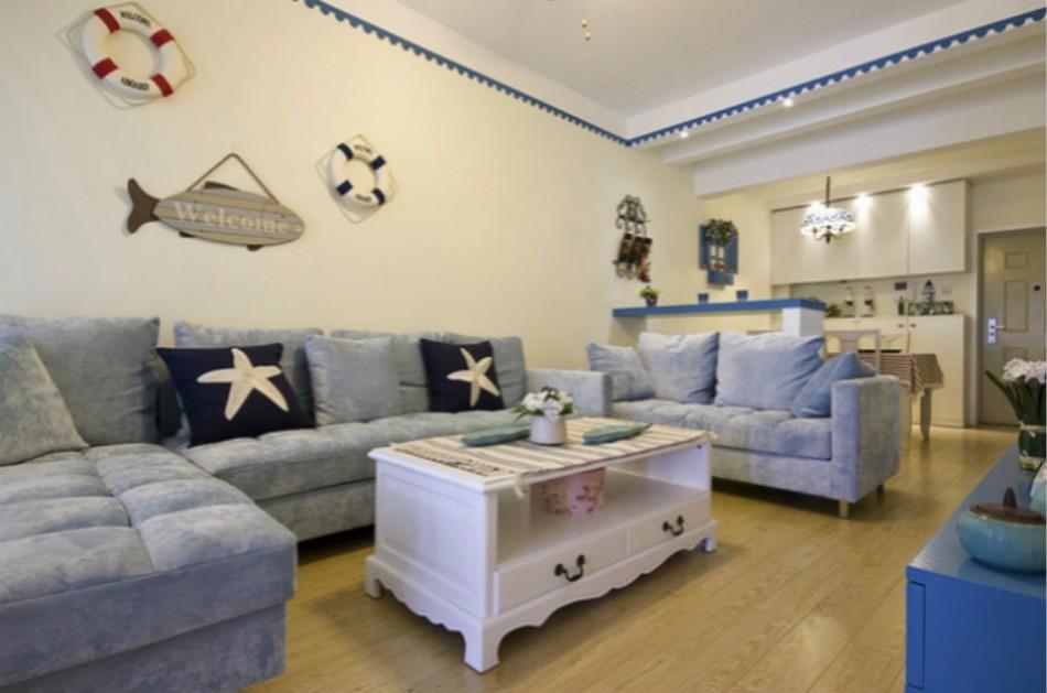 3室3卫4厅95平米地中海风格