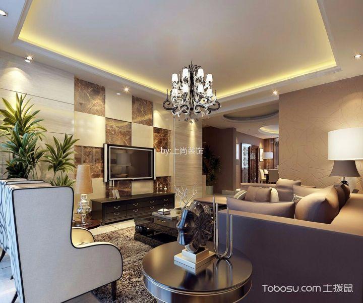宝宇天邑-0㎡现代港式风格两室一厅装修效果图