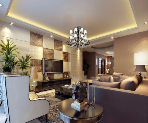 宝宇天邑-0平米现代港式风格两室一厅装修效果图