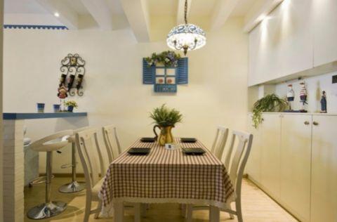 餐厅细节地中海风格效果图