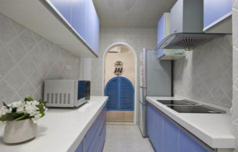 厨房细节地中海风格装潢效果图