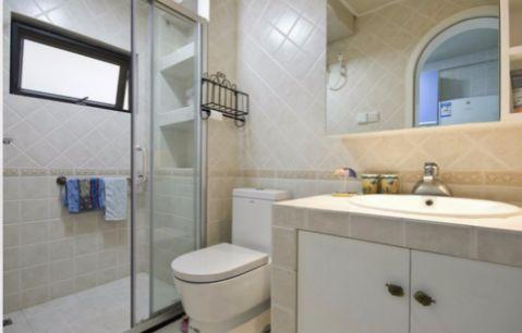 卫生间细节地中海风格装修图片