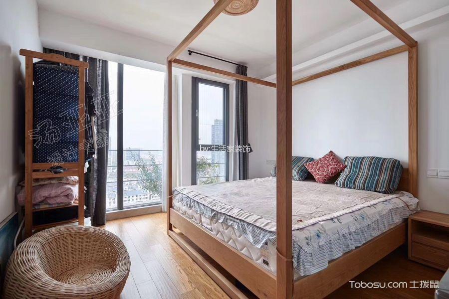 卧室米色细节混搭风格装饰图片