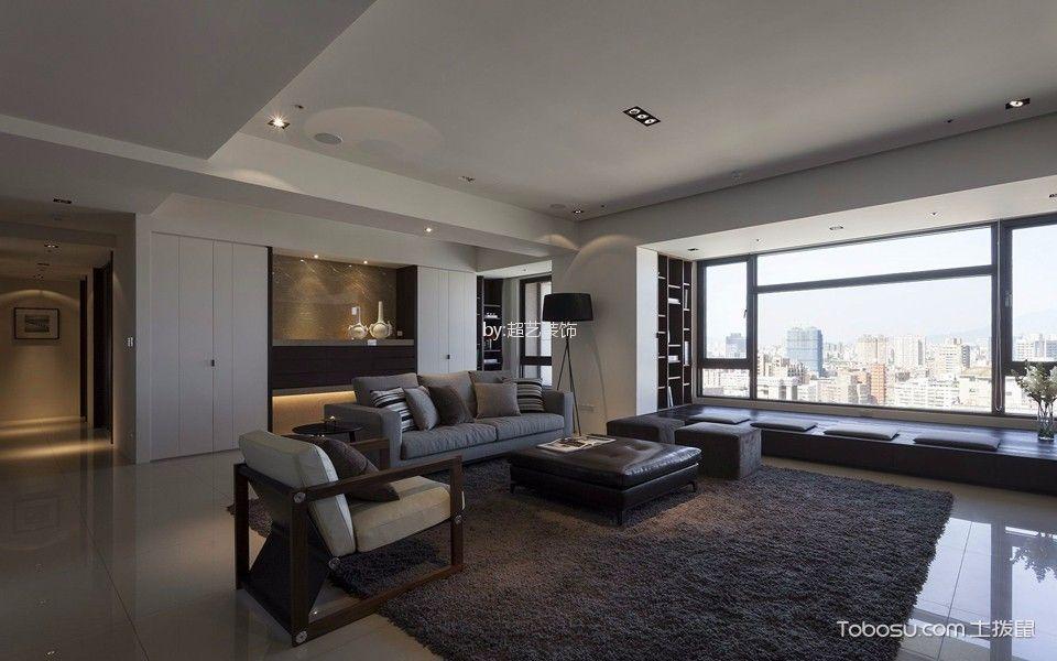 120平新中式风格四居室装修效果图