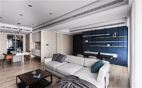 2019现代简约150平米优乐娱乐官网欢迎您 2019现代简约三居室u乐娱乐平台设计图片