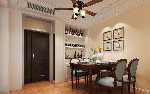 餐厅门厅美式风格装饰效果图