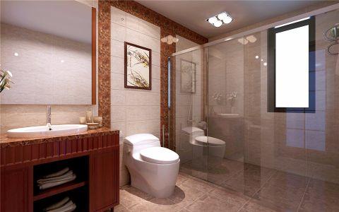 卫生间细节中式风格装饰设计图片