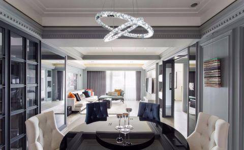 客厅细节新古典风格装潢设计图片