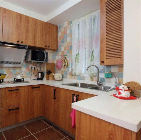 厨房吊顶混搭风格装饰设计图片