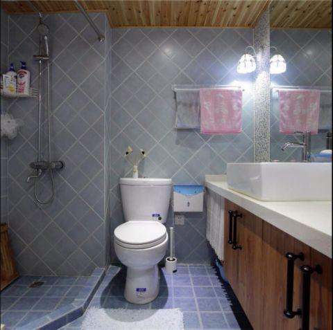 卫生间吊顶混搭风格效果图