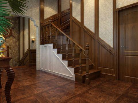 玄关楼梯新古典风格装修图片