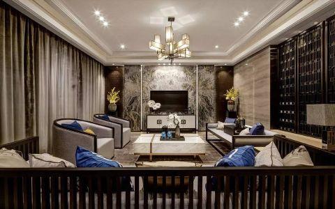 钓鱼巷80平方中式风格两居室装修效果图