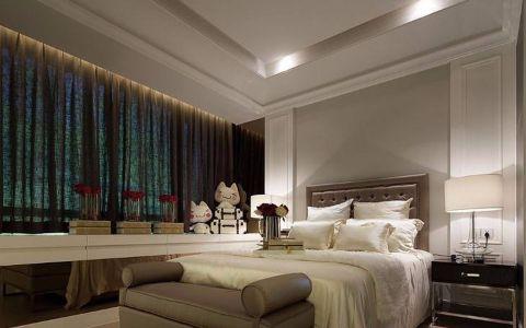 卧室窗台现代简约风格装潢图片