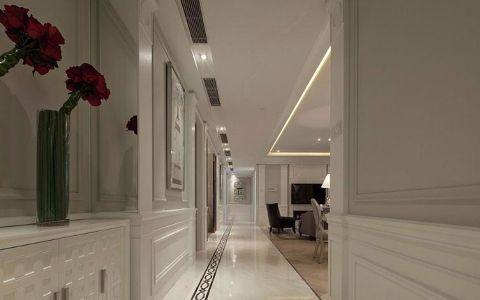 玄关背景墙现代简约风格装饰设计图片