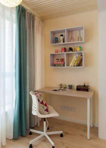 书房飘窗现代简约风格装潢图片