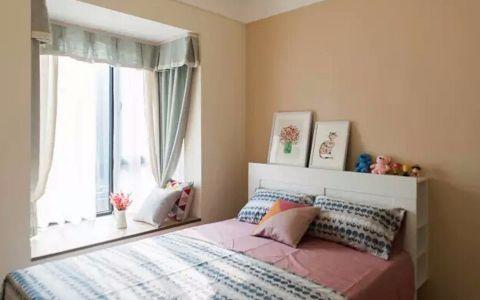 卧室飘窗现代简约风格装修设计图片