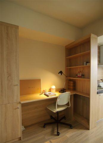 书房橱柜北欧风格装饰设计图片
