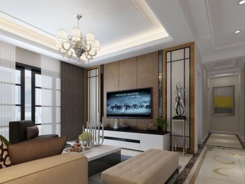 融侨悦城现代简约风格四居室装修效果图