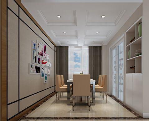 餐厅推拉门现代简约风格装修效果图