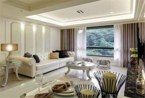 三盛托斯卡纳109平米现代风格套房装修效果图