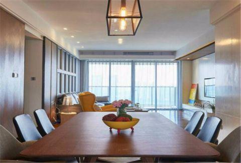 餐厅吊顶现代风格装潢效果图