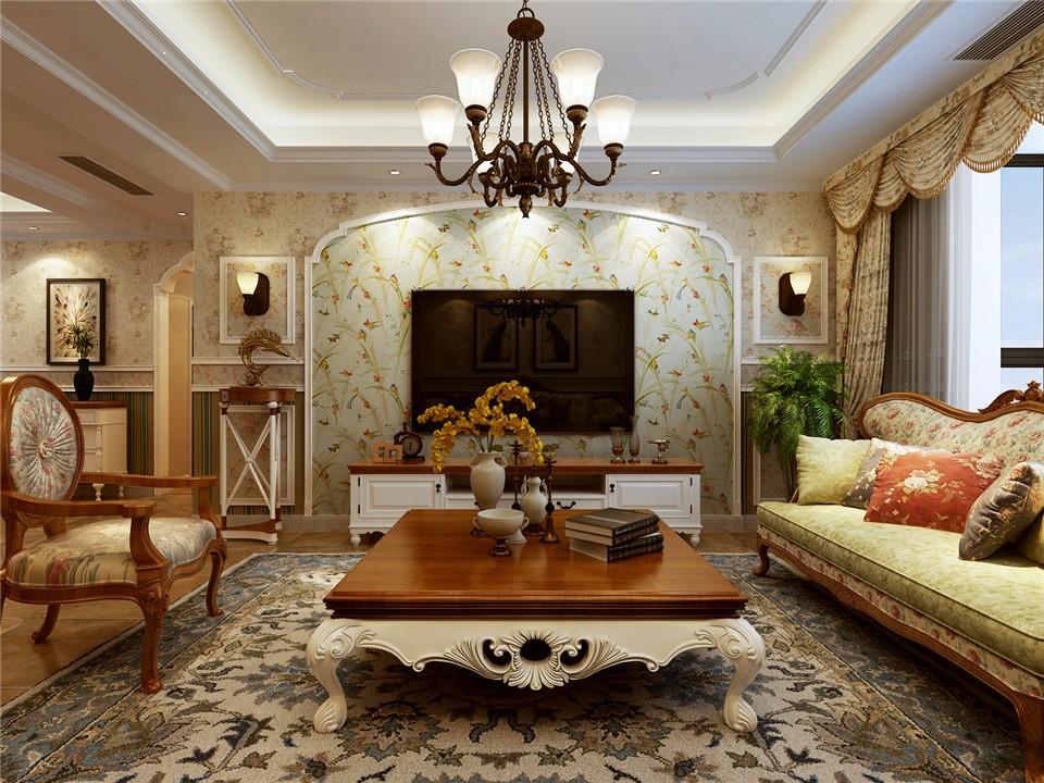 3室1卫2厅127平米田园风格