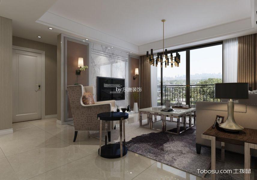 润秀苑一百五十平现代简约风格三居室装修效果图