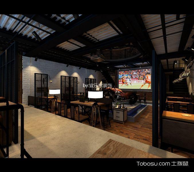 方庄600平米啤酒吧地板装修图片