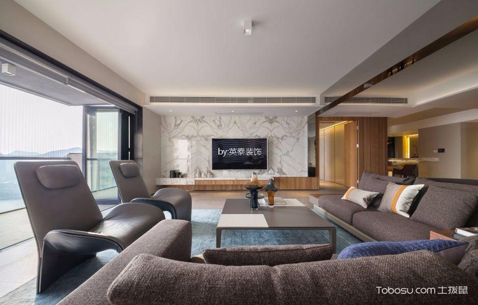 九龙湖花园220平现代风格四房装修效果图