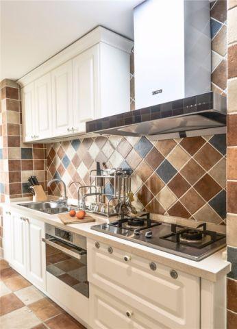 厨房吊顶地中海风格装修效果图