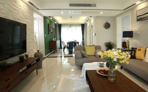 千禧城83平米简约风格两室装修效果图