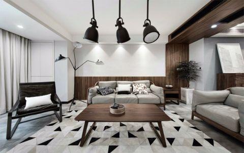 北欧风格120平米套房室内装修效果图