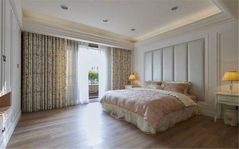 卧室背景墙乡村风格装饰设计图片
