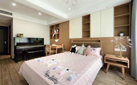 卧室床头柜北欧风格装潢图片