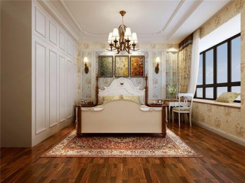 卧室照片墙田园风格装潢设计图片
